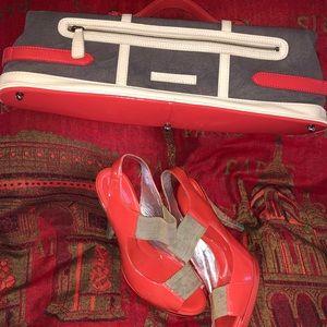 BCBGMaxAzriaHandbag and Shoe Set